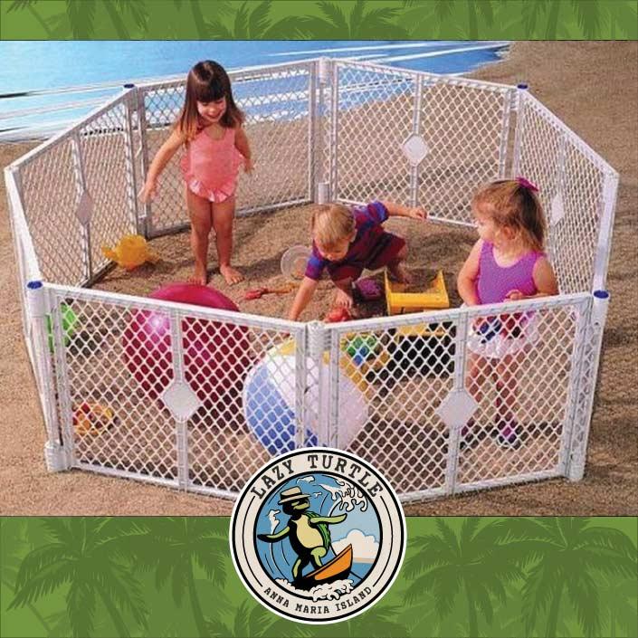 Beach Play Pen Rentals Anna Maria