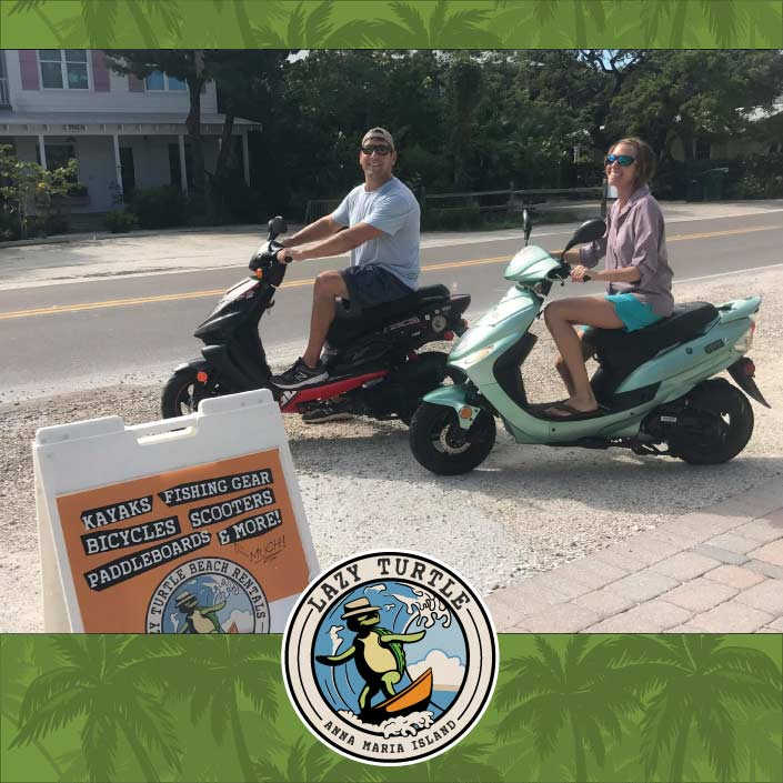 2 Person Scooter Rentals Lazy Turtle Beach Rentals